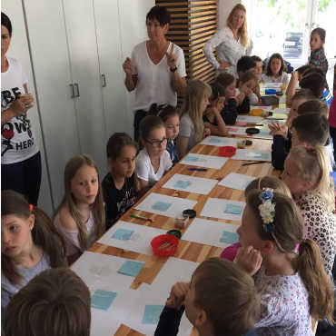 Workshop in Schulen
