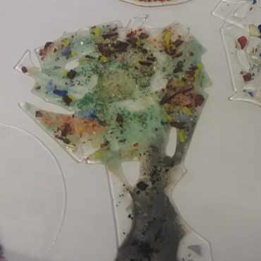 Glasbäume Lebensbäume